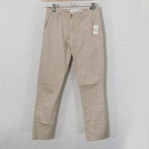 Aeropostale Skinny Twill Pants Uniform Work 2104X